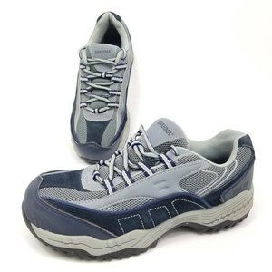 Brahma Womens Size 8 Athletic Shoes Leather Gray